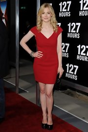 Actress Gillian Jacobs arrived at the '127 Hours' premiere wearing oxidized sterling silver and pave diamond bangles.