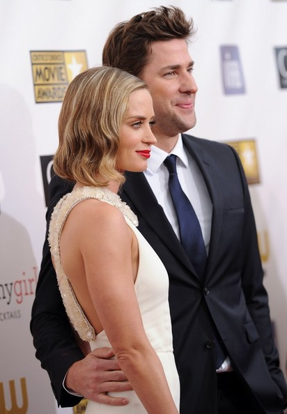 More Pics of Emily Blunt Mid-Length Bob (4 of 24) - Shoulder Length Hairstyles Lookbook - StyleBistro