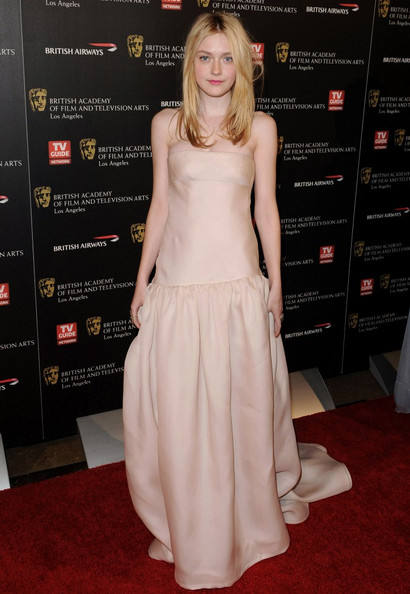 Dakota+Fanning in 19th Annual BAFTA/LA Britannia Awards
