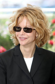 Meg showed off an awesome pair of square shades while attending the Cannes Film Festival.