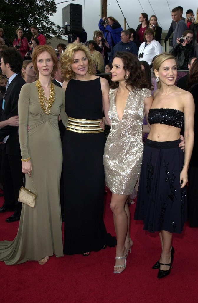 © BAUER-GRIFFIN.COM  CREDIT:AXELLE. 2001 SAG AWARDS, SHRINE AUDITORIUM LA MAR 11 01..SEX AND THE CITY.