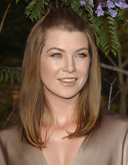Ellen Pompeo showed off a sleek cut.