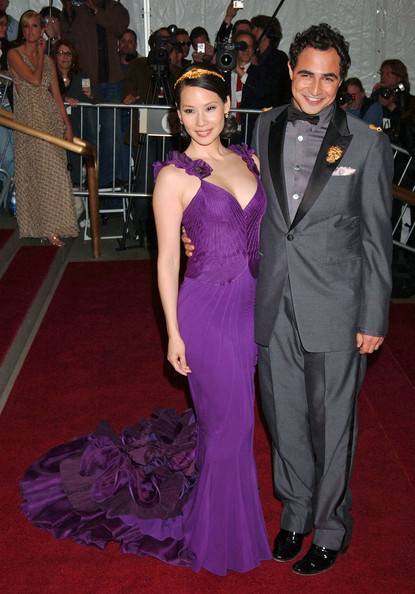 Lucy Liu In Zac Posen, 2007