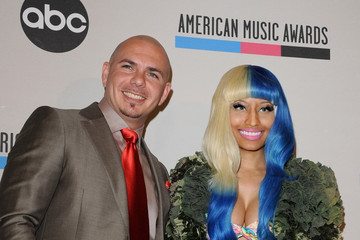 Pitbull Nicki Minaj 2011 American Music Awards - Nominations