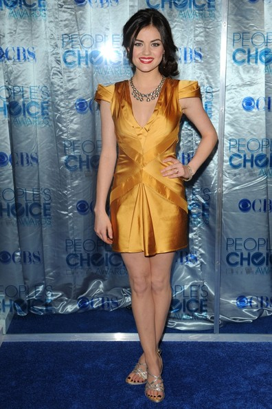 More Pics of Lucy Hale Diamond Collar Necklace (3 of 4) - Lucy Hale Lookbook - StyleBistro []