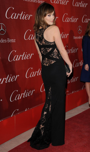 Olivia Wilde in Monique Lhuillier