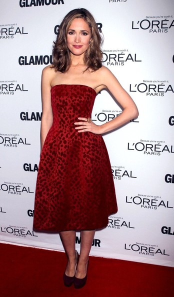 More Pics of Rose Byrne Strapless Dress (1 of 2) - Rose Byrne Lookbook - StyleBistro