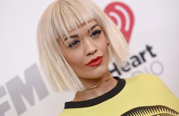 More Pics of Rita Ora Short Cut With Bangs (3 of 6) - Short Hairstyles Lookbook - StyleBistro []