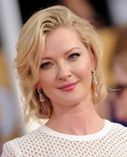 Gretchen Mol looked downright darling with her vintage-glam bob at the 2014 SAG Awards.