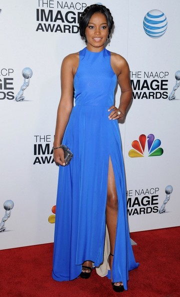 More Pics of Keke Palmer Evening Dress (3 of 4) - Keke Palmer Lookbook - StyleBistro
