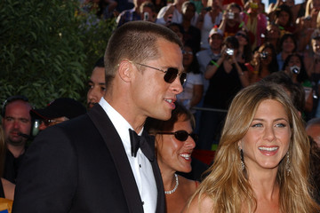 Jennifer Aniston Brad Pitt 56th Annual Emmy Awards