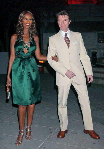 David Bowie at the Tribeca Film Festival Vanity Fair Party in 2007