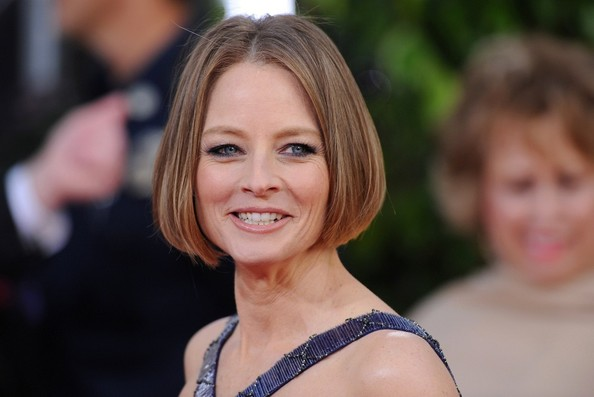 More Pics of Jodie Foster B.o.B (1 of 8) - Short Hairstyles Lookbook - StyleBistro