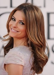 Maria's loose, super-touchable curls at the 2013 Golden Globe Awards were about the closest thing to perfection.