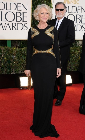 More Pics of Helen Mirren Evening Dress (4 of 6) - Helen Mirren Lookbook - StyleBistro