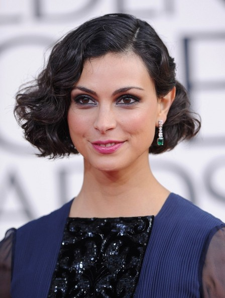 More Pics of Morena Baccarin Evening Dress (1 of 7) - Evening Dress Lookbook - StyleBistro