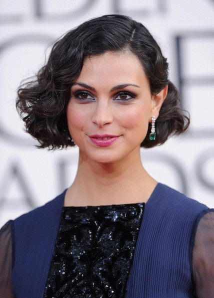 More Pics of Morena Baccarin Evening Dress (2 of 7) - Morena Baccarin Lookbook - StyleBistro