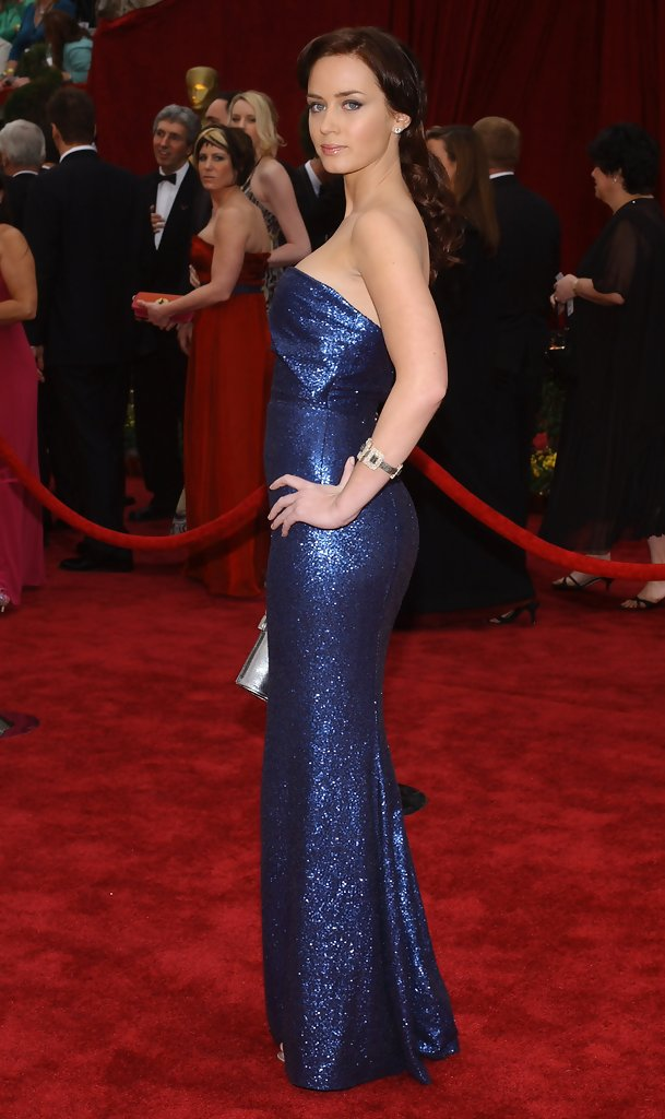 Emily Blunt 2007 The Best Oscar Dresses Of All Time