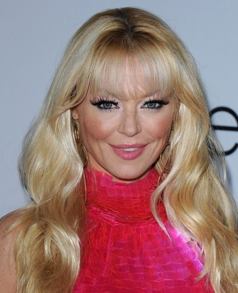Charlotte Ross certainly dressed the part at the 7th Annual Pink Party. Her lashes, however, were still the standout. To try her look at home, use plenty of black eye liner on upper and lower lash lines, then add lengthy lashes, finishing with mascara.