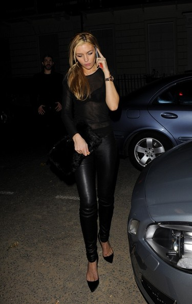 Abbey Clancy Fitted Blouse