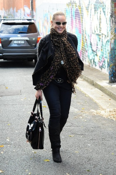 More Pics of Abbie Cornish Mid-Calf Boots (4 of 15) - Abbie Cornish Lookbook - StyleBistro