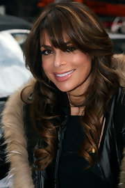 Paula showed off her radiant long curls and wispy bangs while out and about in New York City.