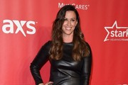 Alanis Morissette Leather Dress