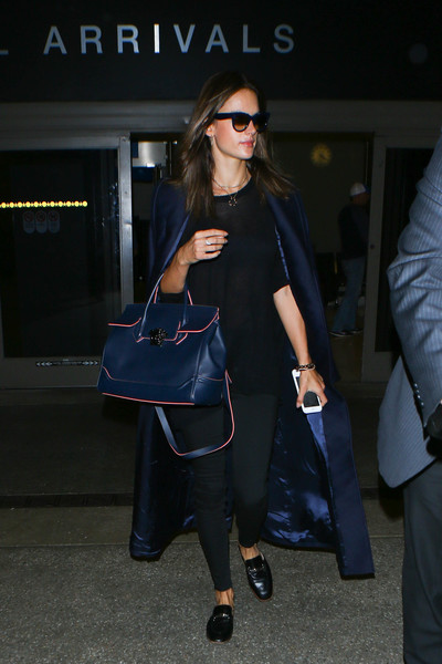 Alessandra Ambrosio Evening Coat