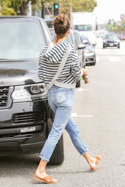 More Pics of Alessandra Ambrosio Capri Jeans (1 of 15) - Jeans Lookbook - StyleBistro []