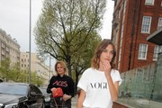 Alexa Chung Attends the Vogue Festival