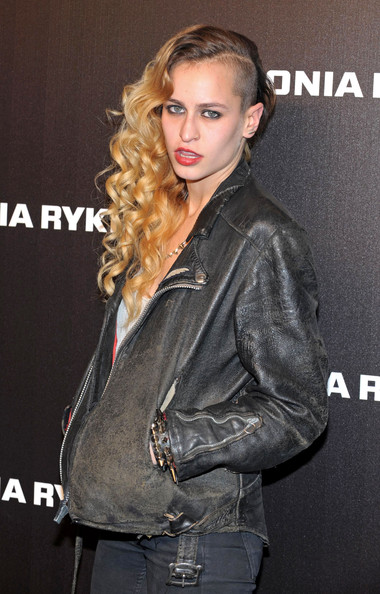 Alice Dellal Long Curls