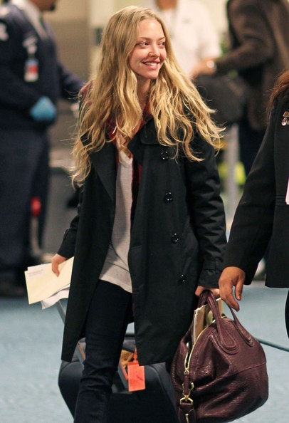 More Pics of Amanda Seyfried Lace Up Boots (3 of 26 ...