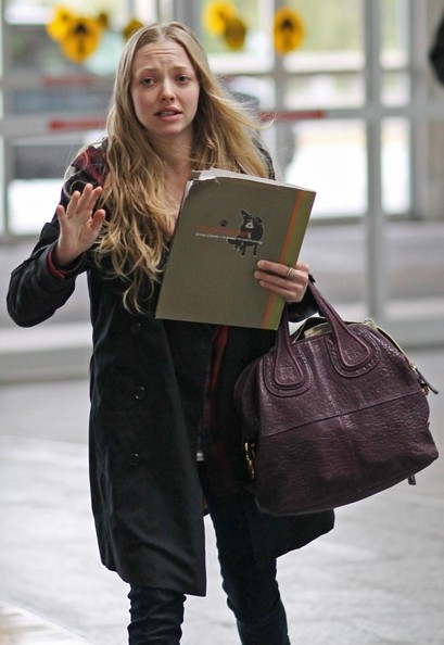More Pics of Amanda Seyfried Lace Up Boots (6 of 26 ...