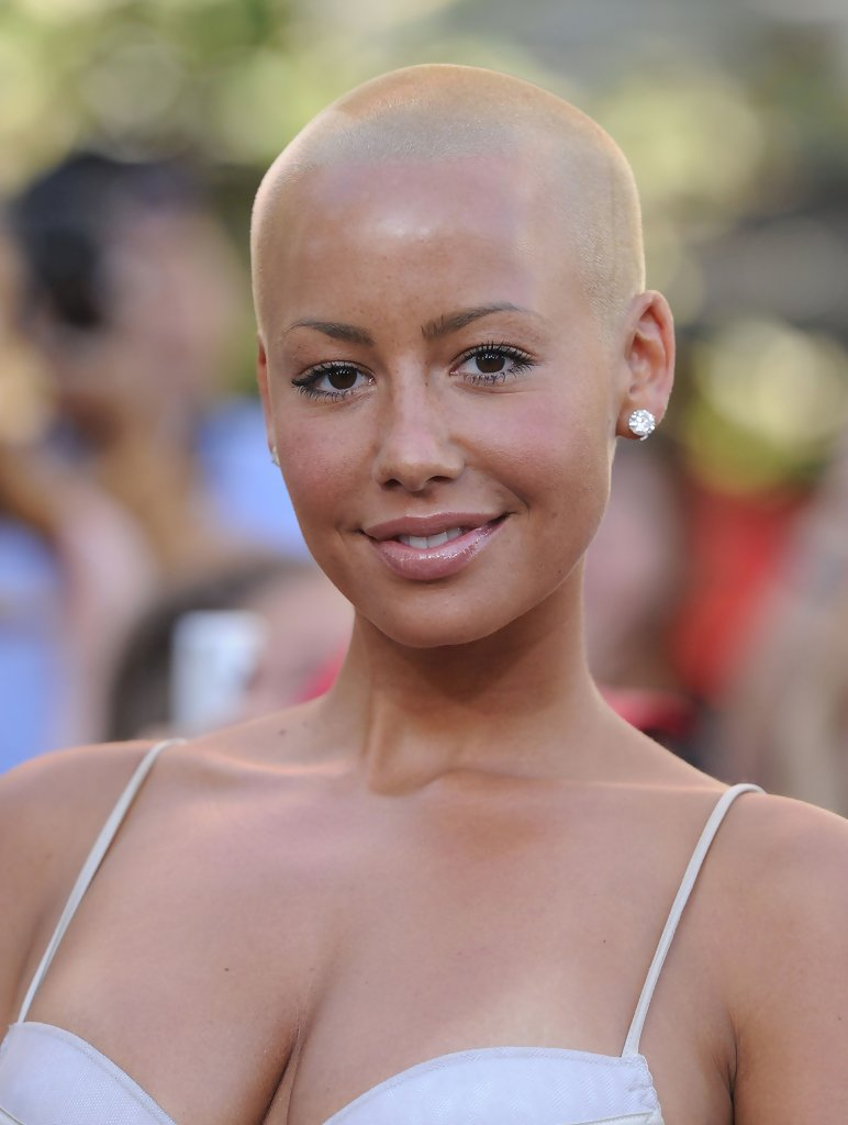 Amber Rose Bald Amber Rose Short Hairstyles Lookbook Stylebistro
