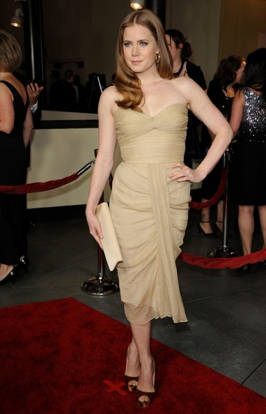 Amy Adams Satin Clutch