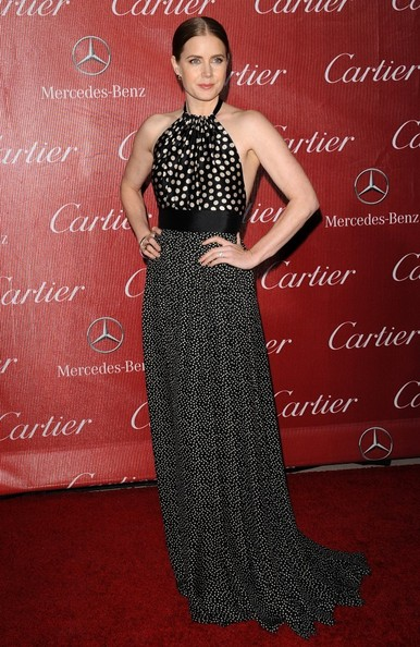 Amy Adams Halter Dress []