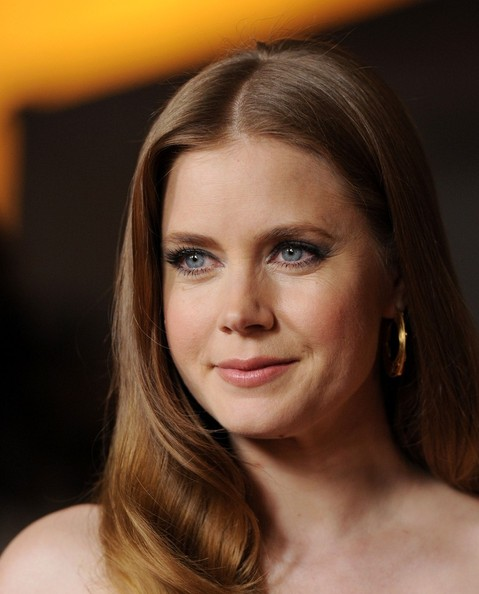 Amy Adams Gold Hoops