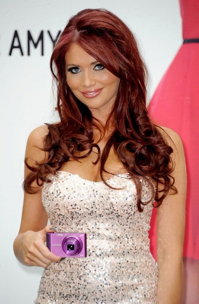 Amy Childs Pink Lipstick
