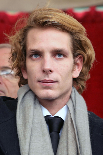 Andrea Casiraghi Short Wavy Cut