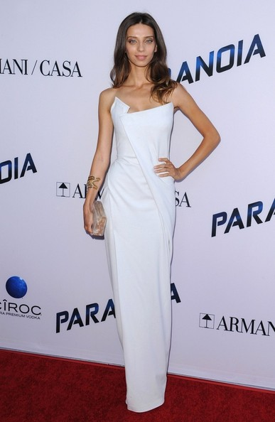 Angela Sarafyan Strapless Dress
