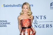 Anna Camp Strapless Dress