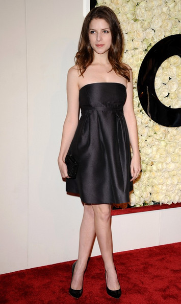 Anna Kendrick Strapless Dress