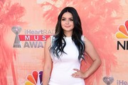 Ariel Winter Metallic Clutch
