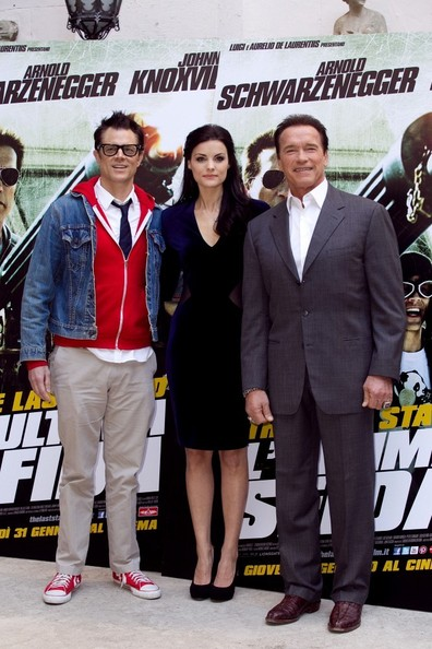 'The Last Stand' Cast in Italy