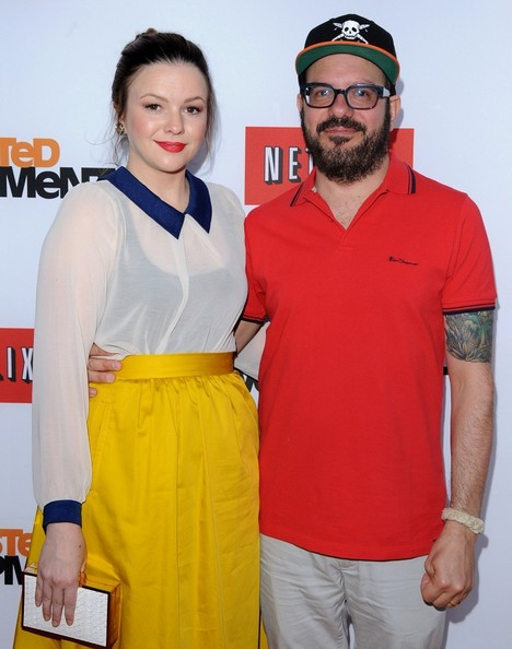 More Pics of Amber Tamblyn Knee Length Skirt (1 of 9) - Amber Tamblyn Lookbook - StyleBistro