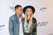 Ashlee Simpson Evening Coat