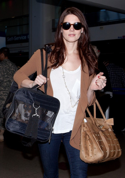 Ashley Greene Leather Tote