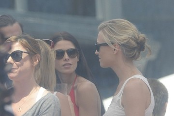 Olivia Wilde Ashley Greene Ashley Greene Out for Memorial Day in Malibu