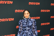 Ashley Madekwe Print Dress