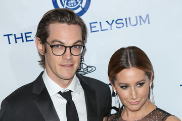 Ashley Tisdale Christopher French Celebrities Attend Art of Elysium's 9th Annual Heaven Gala